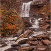 New York Catskills Kaaterskill Falls 5 October 2019