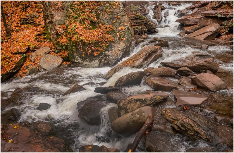 New York Catskills Kaaterskill Creek 2 October 2019