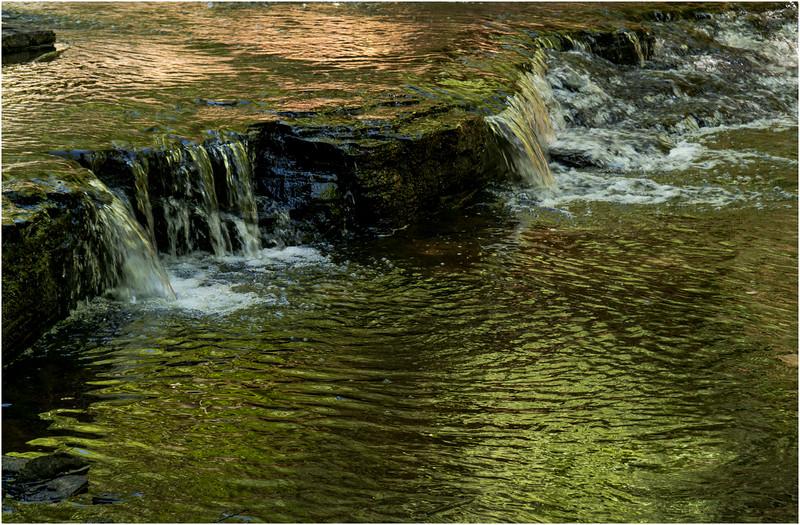 Rensselearville  NY June 2015 Falls in Lake Creek