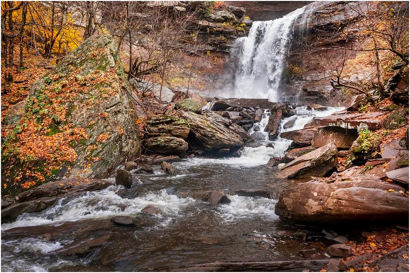 New York Catskills Kaaterskill Falls 1 October 2019