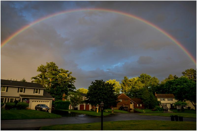 Delmar NY Rainbow in the Neighborhood June 2017