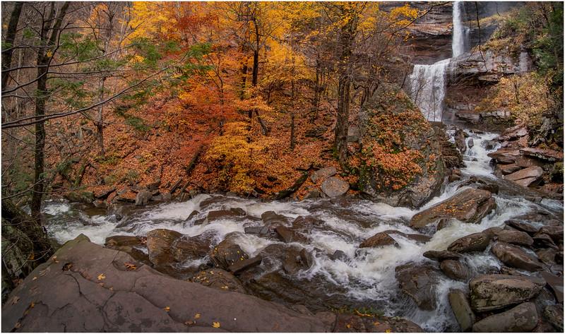 New York Catskills Kaaterskill Falls 17 October 2019