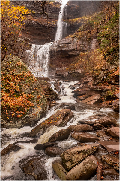New York Catskills Kaaterskill Falls 3 October 2019
