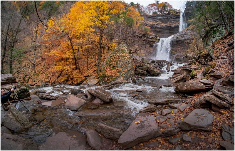 New York Catskills Kaaterskill Falls 14 October 2019