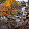 New York Catskills Kaaterskill Falls 14 October 2019