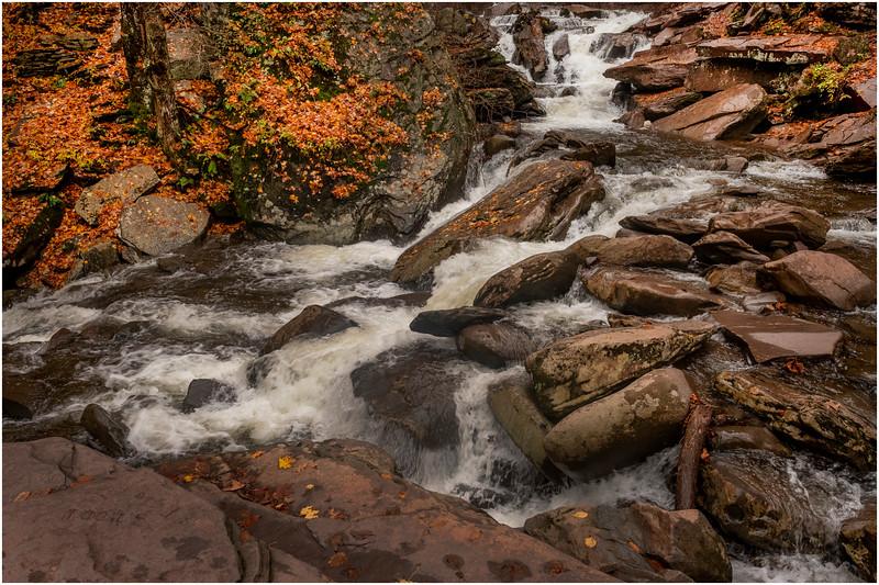 New York Catskills Kaaterskill Falls 4 October 2019