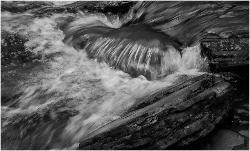 New York Catskills Kaaterskill Creek BW 14 October 2019