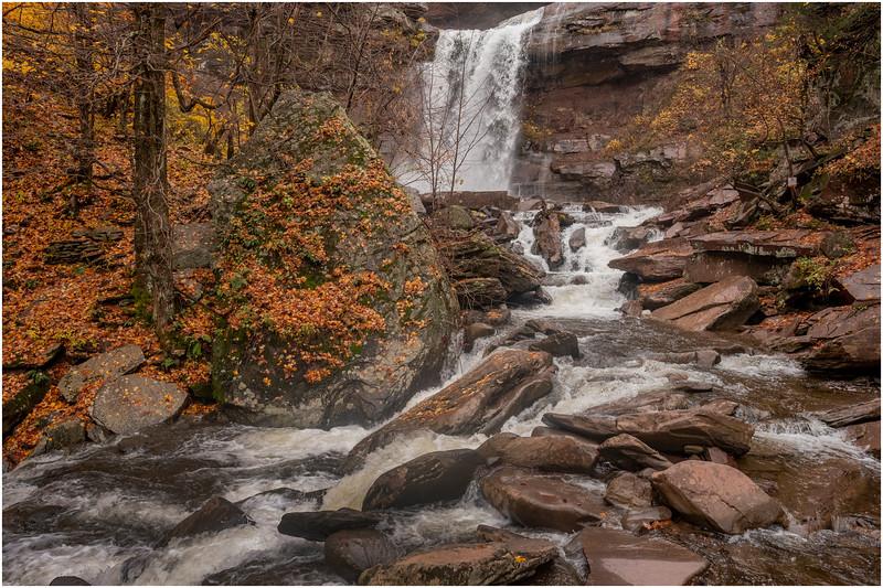 New York Catskills Kaaterskill Falls 7 October 2019