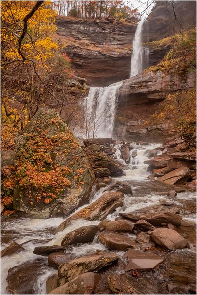 New York Catskills Kaaterskill Falls 6 October 2019