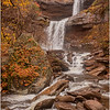 New York Catskills Kaaterskill Falls 6 October 2019