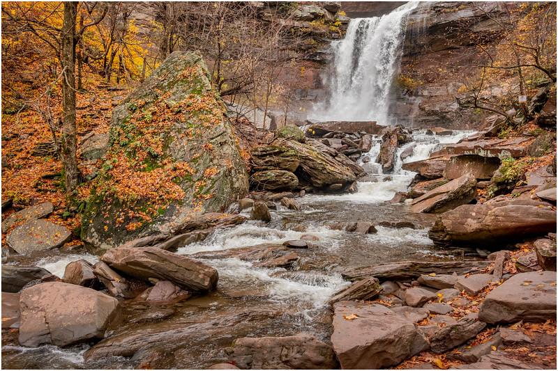 New York Catskills Kaaterskill Falls 9 October 2019