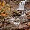 New York Catskills Kaaterskill Falls 9 October 2019