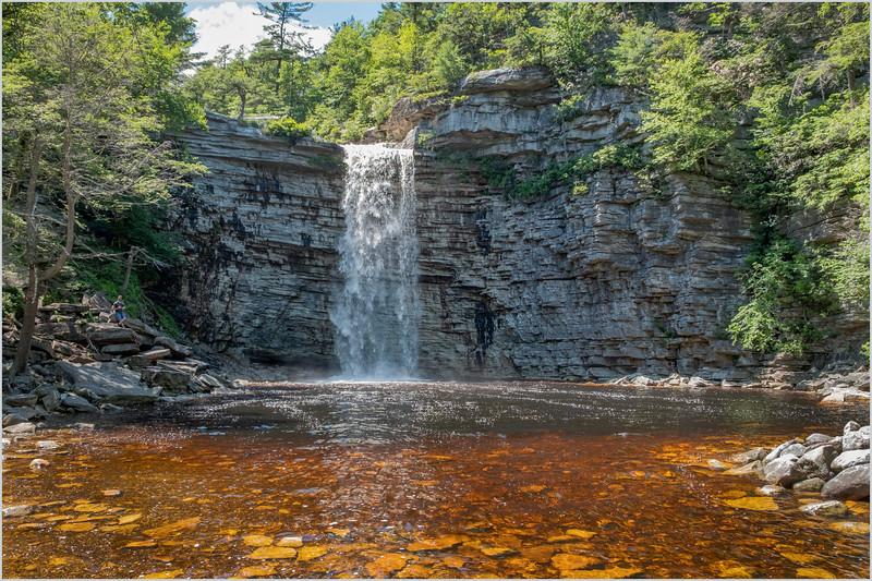NY Minnewaska Awosting Falls 3 June 2019