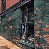 Oswego NY Green Brick Wall 2 July 2016