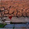 Glens Falls NY Brick 11 Grafitti May 2016