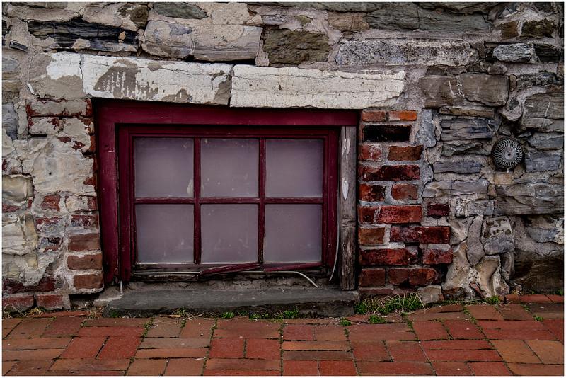 Troy Brick April 2015 Stone, Brick and Basement Window