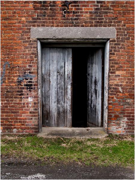 Watervliet NY April 2009 Warehouse Door