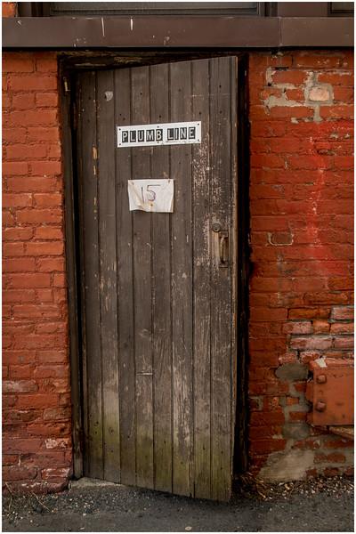 Troy Brick April 2015 Brick and Plumb Line Door