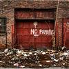 Albany NY No Parking Garage XMas Ttrees 2008