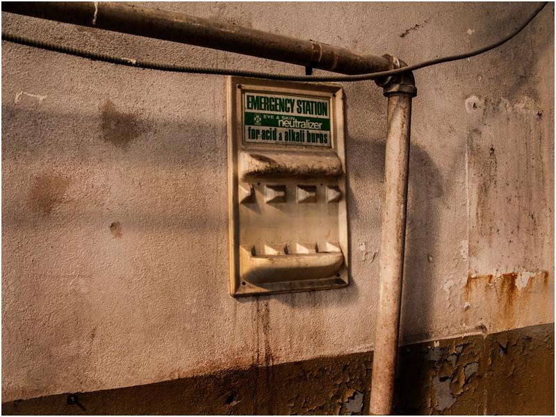 Troy NY  Factory Interior Emergency Station 2008