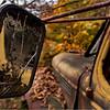 Adirondacks Essex Chain Parking Lot Old Truck Detail 9 October 2013