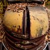 Adirondacks Essex Chain Parking Lot Old Truck Detail 1 October 2013