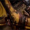 Adirondacks Essex Chain Parking Lot Old Truck Detail 22 October 2013