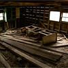 Adirondacks Keene Barn Interior 1 September 2013