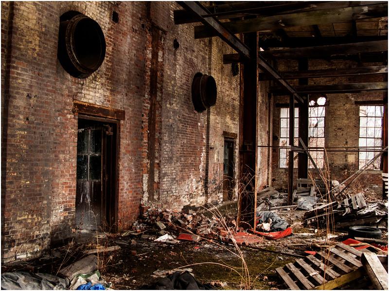 Troy NY  Factory Interior 9 2008