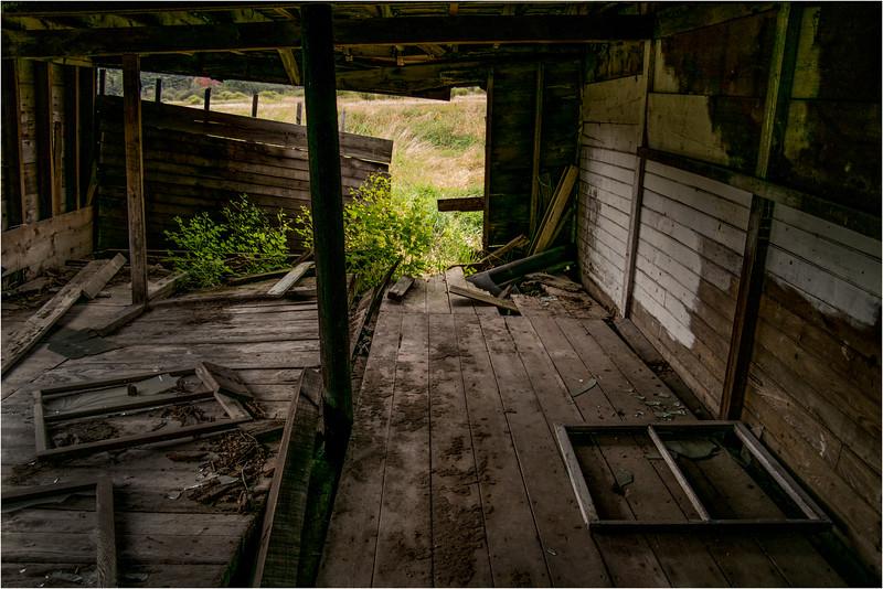 Adirondacks Keene Barn Interior 4 September 2013