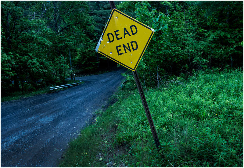 Berne NY Bradt Hollow Dead End June 2016
