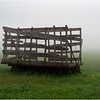 Bethlehem NY Haycart in Mist August 2011