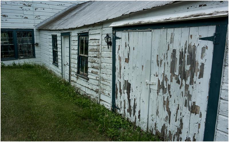 East Berne NY White Garage 3 June 2016