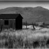 Shack and Mountain Arizona