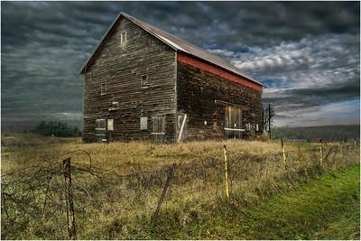 Slingerlands NY Krumkill Road November 2015 Barn 1