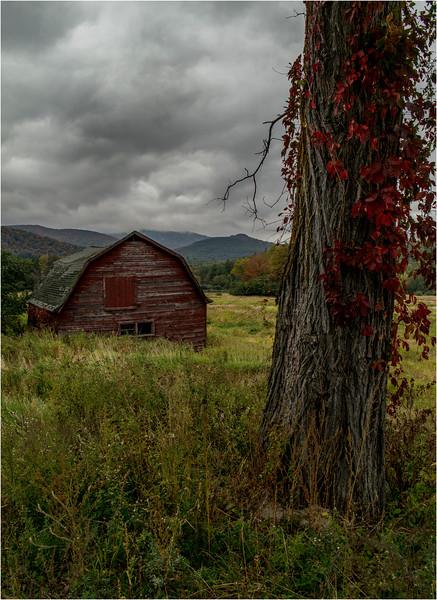Adirondacks Keene Barn Exterior 3 September 2013