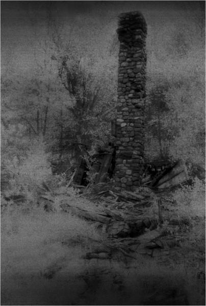 Adirondacks The Glen Abandoned Homestead 3 IR Film June 1992