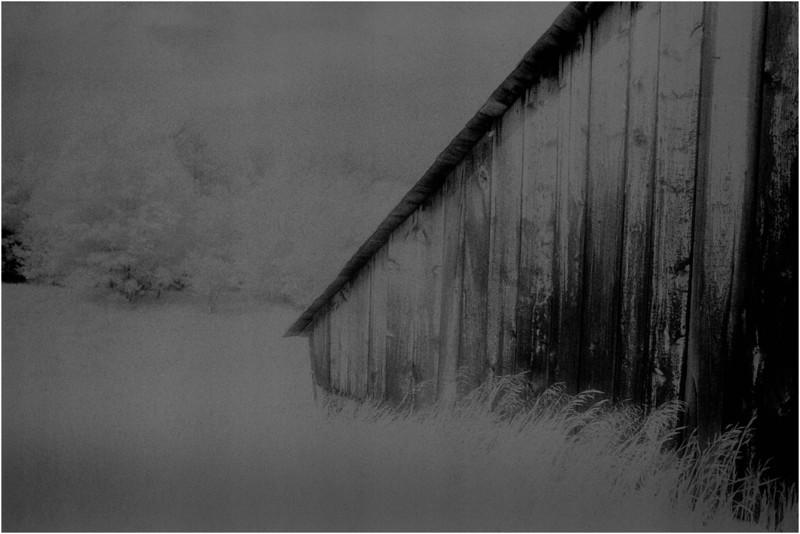 Washington County NY Abandoned Barns 4 IR Film June 1984