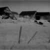 New Salem NY Barn Complex and Fence IR Film May 1991