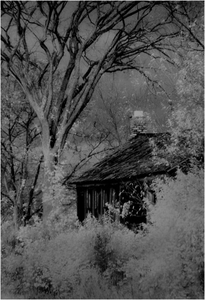Washington County NY Abandoned Home IR Film June 1982
