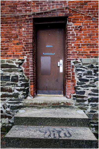 Troy NY Brick Doorway 1 December 2016