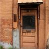 Albany NY Orange Painted Wall and Office Door June 2009