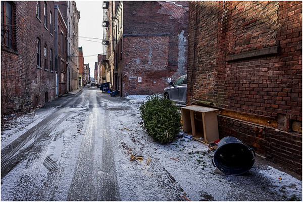 Troy NY Back Alley 20 January 2017