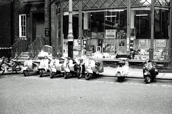 Scooters in 1960