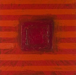 Unititled Red 20x20