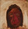 Native American, oil, 22 x 22