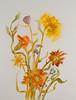 From Her Garden-mixed medai (20x26)