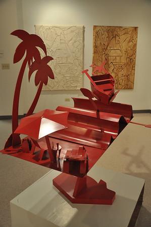 Bill Nickels: Drawings, Paintings, and Sculpture