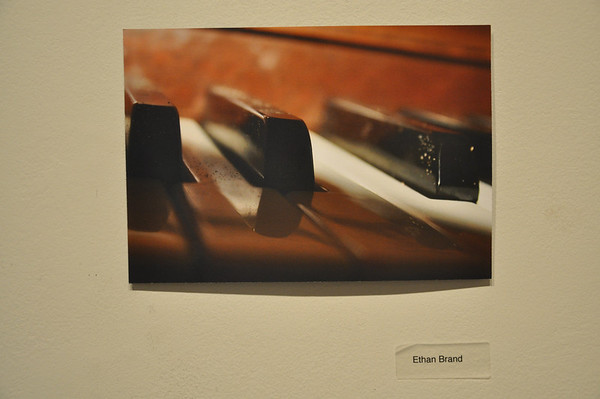 Student Work in Art Gallery - Jan 2012