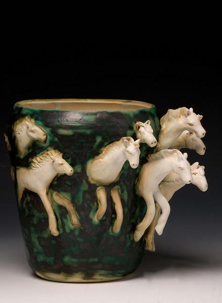 Artist Eisabeth Sullivan Cook Ceramics
